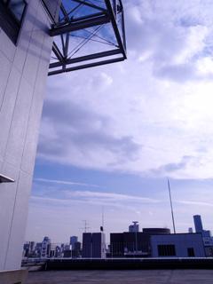 天しもビル屋上レンタル撮影スタジオ